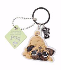 Wags & Whiskers Pug Dog Keyring 00204000030