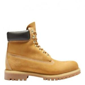 Mens Timberland 6 Inch Premium Waterproof Boot Wheat Black TB010061713