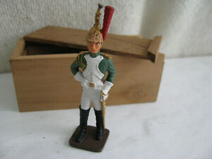 toy soldier- Empress Dragoons  Officer- French Army