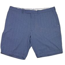 RLX Ralph Lauren Men's Size 40 Blue Geometric Polyester Blend Golf Shorts