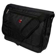 Laptop Umhängetasche Business Messenger Bag Notebook Tasche Schwarz