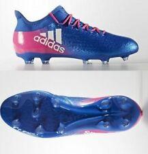 Adidas x 16.2 FG señores botas de fútbol FG azul blanco rosa bb5634