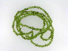 Natural peridot chips 5-6mm 35''