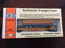 Con-Cor HO 1:87 Union Pacific 54' Flatcar w/Trailer.   Brand New.