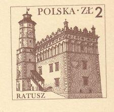 UNC #432 Sandomierz Poland 2 zloty 2006 Sandomierz