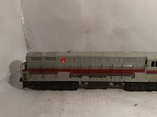 Vintage Lionel 2321 Lackawanna O Scale Engine Diesel Locomotive Gray Roof
