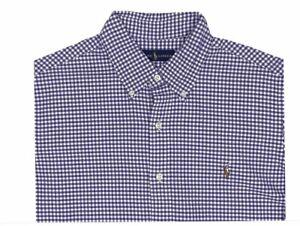 Polo Ralph Lauren Men's Big & Tall Classic Fit Cotton Gingham Shirt, Size 3XB,