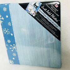 "Westrim Crafts Snowflake Dimensional Album Kit 8.5"" x 11"" Scrapbook Winter"