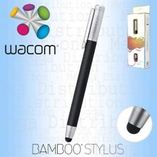WACOM Bamboo Solo Tablet Smartphone Touch Screen Stylus Pen BLACK CS-100