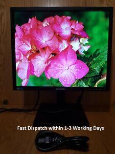 "Samsung 19"" inch LED DVI VGA monitor. Samsung S19C450BR. Display diagonal: 48.3"