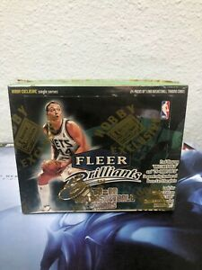 1998-99 FLEER Brilliants NBA Basketball Cards Hobby BOX NEW/SEALED
