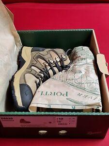"Danner Men's Downrange 6"" All Terrain Rugged Hiking Boots Black/Tan/Charcoal 13"