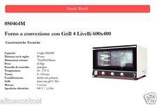 Forno a convezione Analogico 4 Livelli 600x400 con grill