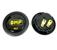 OMP CAR HORN BUTTON STEERING WHEEL CENTER CAP BLACK
