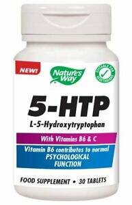 Nature's Way 5-HTP with Vit B6 & C 30 Tablets
