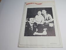 RARE Playbill Program The Subject Was Roses Mineola Theatre 1966 Chester Morris