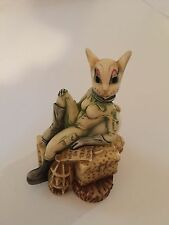 "Harmony Kingdom ""Minx On The Moon"" -Retired-Treasure Jest"