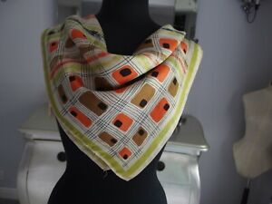 Vintage Silk scarf 1950s