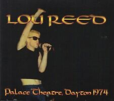 LOU REED. 1974. DAYTON. PALACE THEATRE. SOUNDBOARD. DIGIPACK 2 CD.
