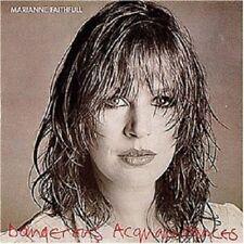 MARIANNE FAITHFULL - DANGEROUS ACQUAINTANCES;CD 9 TRACKS CLASSIC ROCK & POP NEW+