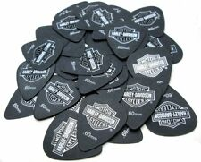 Jim Dunlop Harley Davidson HD-P002R .60mm B-TRTX B&S Black Guitar Picks 36 Pack