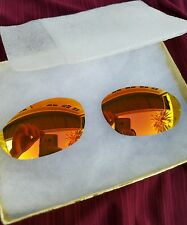 Rare NEW!FIRE IRID GOLD  100% original Oakley XX twenty or Minute 2.0 New Lenses