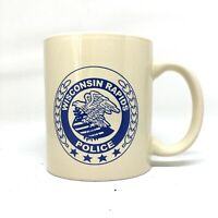 Wisconsin Rapids Police Coffee Mug Cup Ceramic Eagle