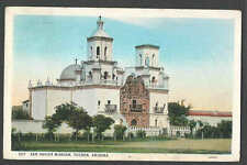 PPC #G105* GOOD POSTCARD SAN XAVIER MISSION TUCSON AZ POSTED