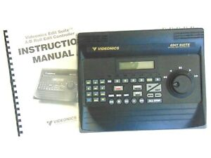 Videonics Edit Suite AB-1 NTSC A/B Roll Edit Controller W/ Manual