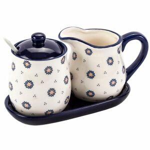 Set Milch und Zucker Zuckerdose + Milchkännchen aus Keramik 300ml Küche Geschenk
