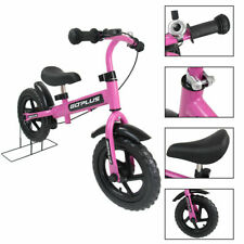 """12"""" Pink Kids Bike Bicycle Children Boys & Girls with Brakes and Bell Exercise"""