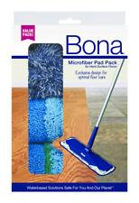 Bona  16.5 in. L Microfiber  Mop Pad  3 pk