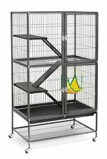 485 Pet Products Feisty Ferret Home Con Soporte, Black Hammertone