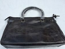 NEW**Argentinian Calf Leather***HALO**Large Luggage Duffle Bag***$1350