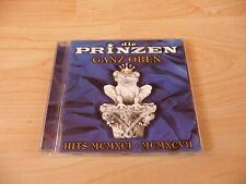 CD Die Prinzen - Ganz oben - Hits MCMXCI - MCMXCVII