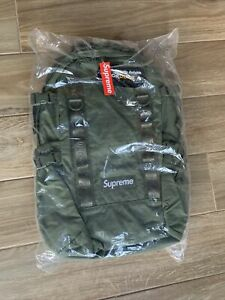 Supreme Backpack Olive Green FW20 2020 *New In Bag*
