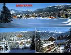 MONTANA - VERMALA (SUISSE) CHALETS & HOTELS en hiver 1981