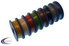 Schaltdraht Sortiment 8 Rollen mit je 10m mit 0,2mm² - Kabel Litze Set