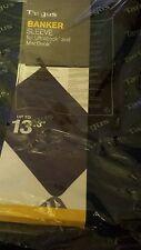 Targus Banker Sleeve- Carrying Case- For Ultrabook/Macbook 13.3 - Blue- New!