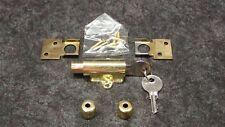 (7) New! Tru Guard by Tru Value WINDOW LOCKS, BRIGHT BRASS FINISH, P/N 584730