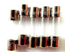 160mA250V 160mA 250V Fast Acting Quick-Blow 5mm x 20mm Glass Cartridge Fuses