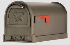 NEW Bronze Solar Group Arlington Steel Rural Mailbox Post Mount T2 Size AR15T000