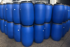 More details for 220l shipping barrel un approved with lockable clamp ring