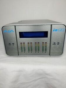 AJA Io HD 10-Bit HD FireWire-800 Analog/Digital Capture Device Power WORKS