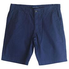 Cotton Flat Front Shorts for Men