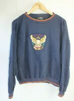 Vintage retro USA trophy USA american eagle sweatshirt jumper large