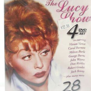 The Lucy Show 4 DVDs 28 Hilarious Episodes TV Classics Lucille Ball Collectors