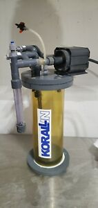 Korallin C-1502 Calcium Reactor With Pump