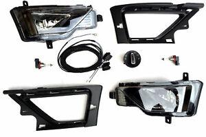Nebelscheinwerfer Nachrüstung NSW Set Kit Komplettset Golf Sportsvan bis 11/17