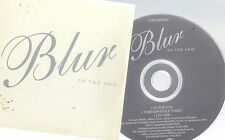 BLUR - TO THE END / OUT OF TIME - 2 X UK PROMO CDS - UNIQUE CARD SLVS - BRITPOP